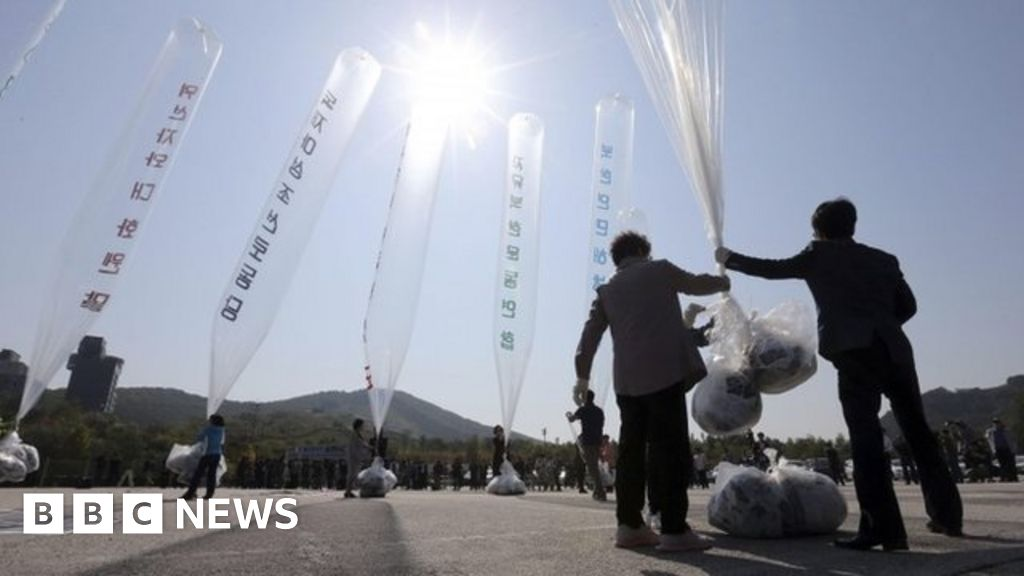 South Korean balloons to stop the plans of people to send cross-border messages