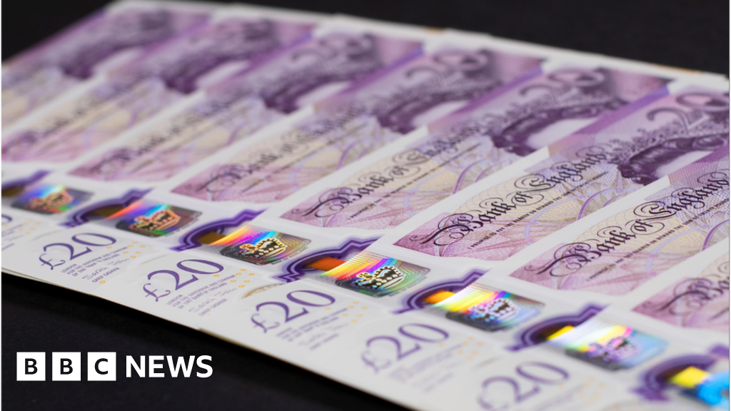 Turning billions of £20 notes into compost