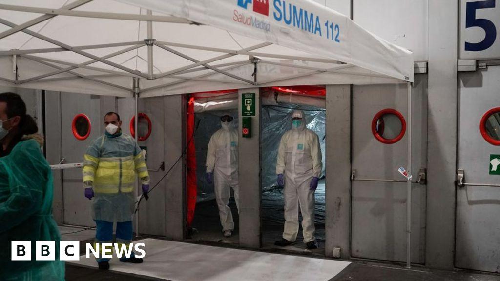 Hard-hit Spain's coronavirus outbreak 'slowing'