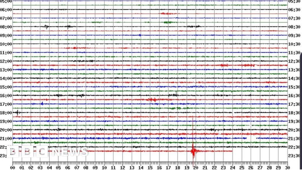 Somerset homes shaken as 3. 2 magnitude earthquake strikes