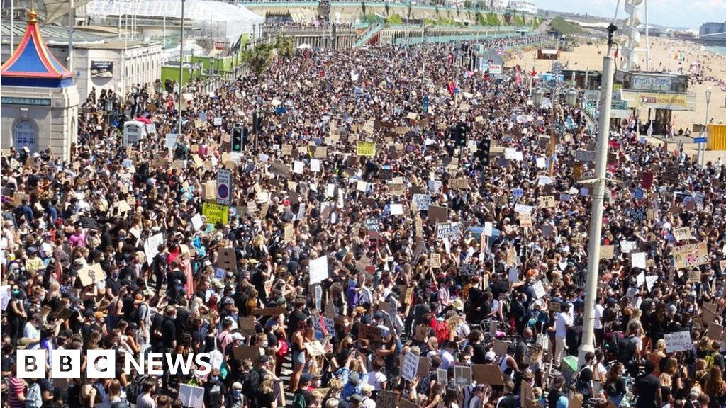 Black Lives Matter: Brighton protest attended by thousands thumbnail