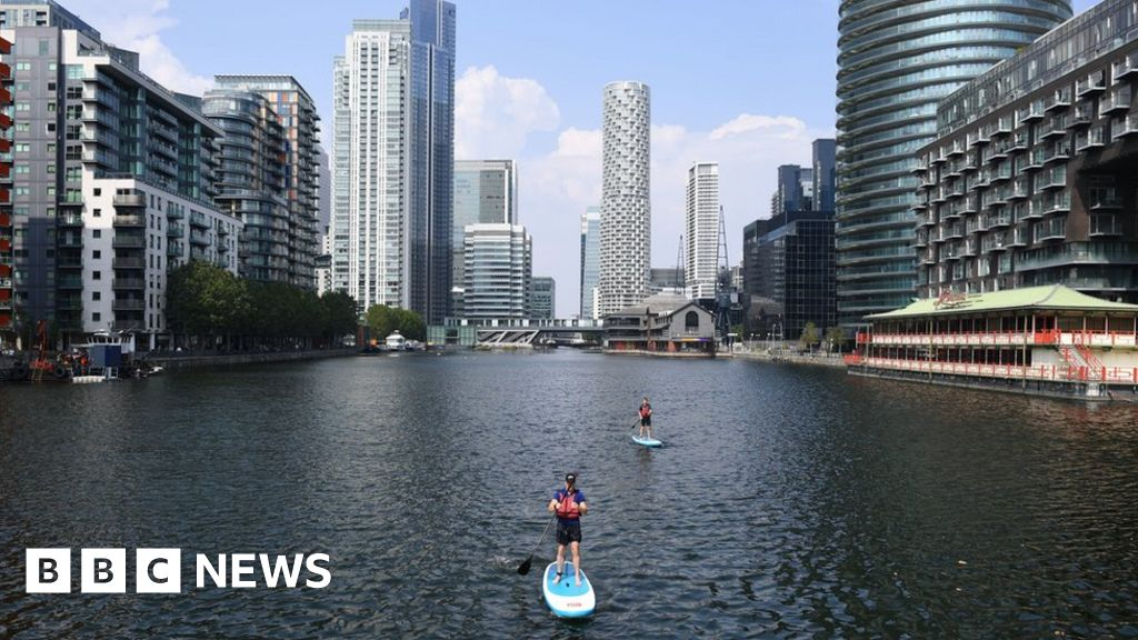 London sees hottest stretch since 1960s