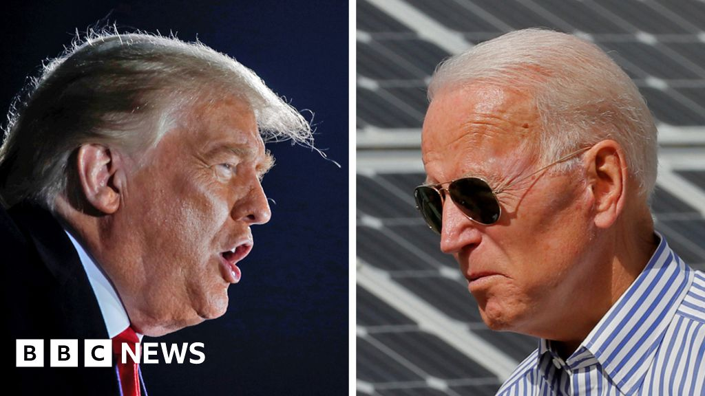 US election 2020: Fact-checking Trump and Biden town hall events