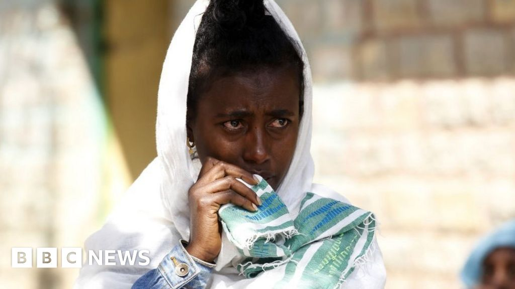 """""""There's famine now in Tigray."""" The world's most senior humanitarian official, UN emergency relief coordinator Mark Lowcock, said"""
