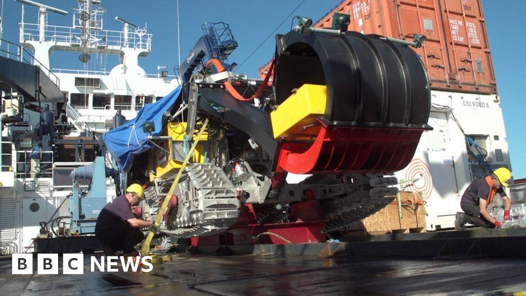 Tương lai xe điện có thể phụ thuộc vào khai thác biển sâu