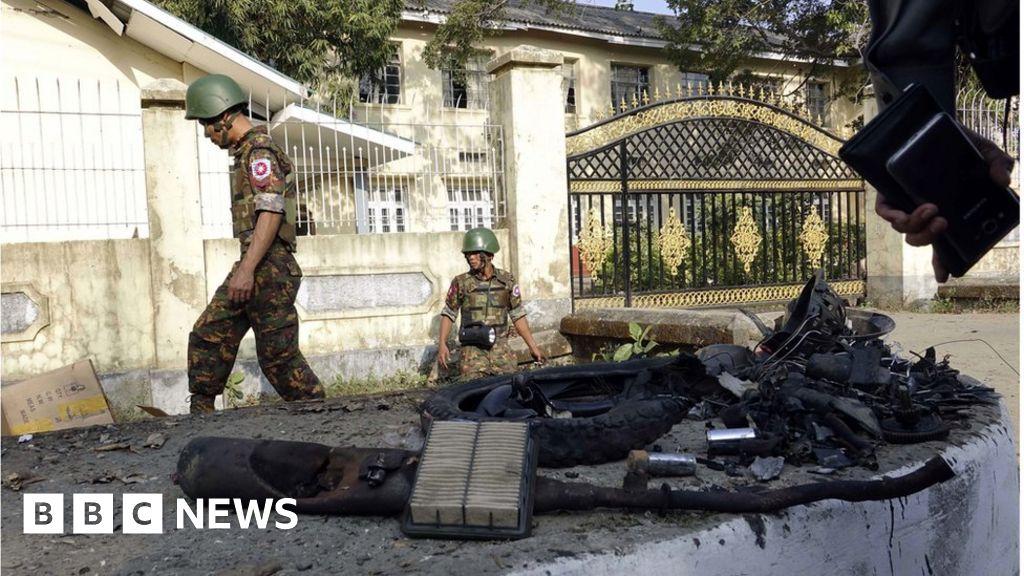 Myanmar: Bombs explode in capital of restive Rakhine state