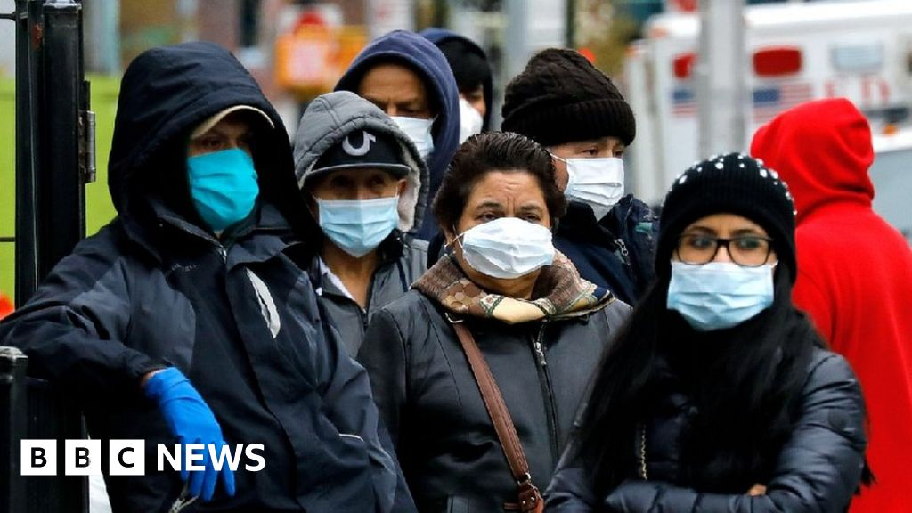 Coronavirus: US set to recommend wearing of masks