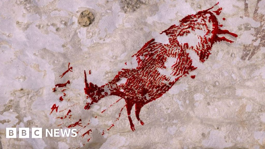 Animal painting found in cave is 44,000 years old