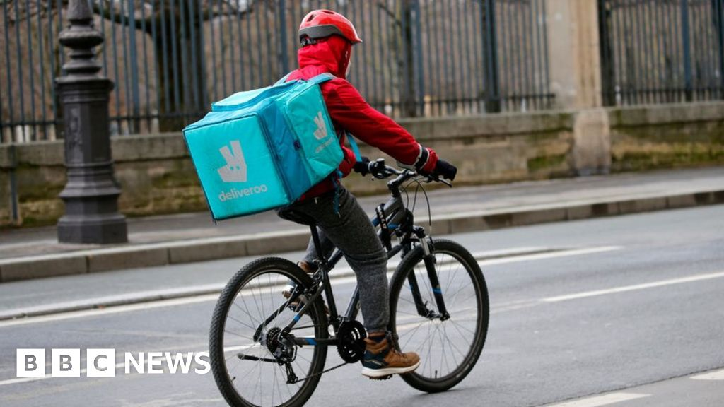 thumbnail image for review of Deliveroo April Fool's joke backfires in France - BBC News
