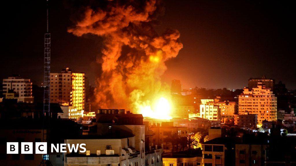 Israel Gaza conflict: Gazan officials say Sunday was 'deadliest day' – BBC News