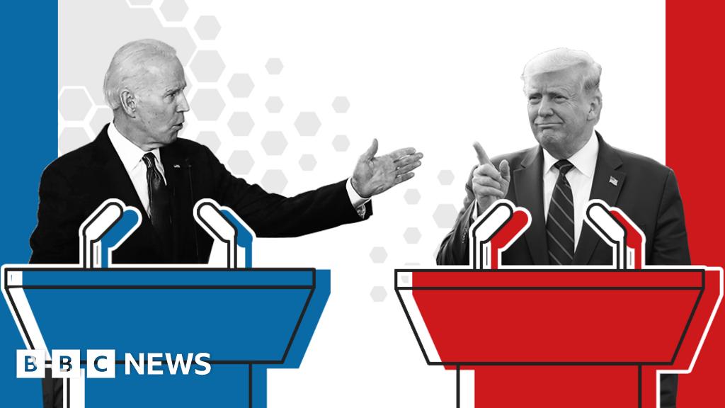 When is the Trump v Biden debate?