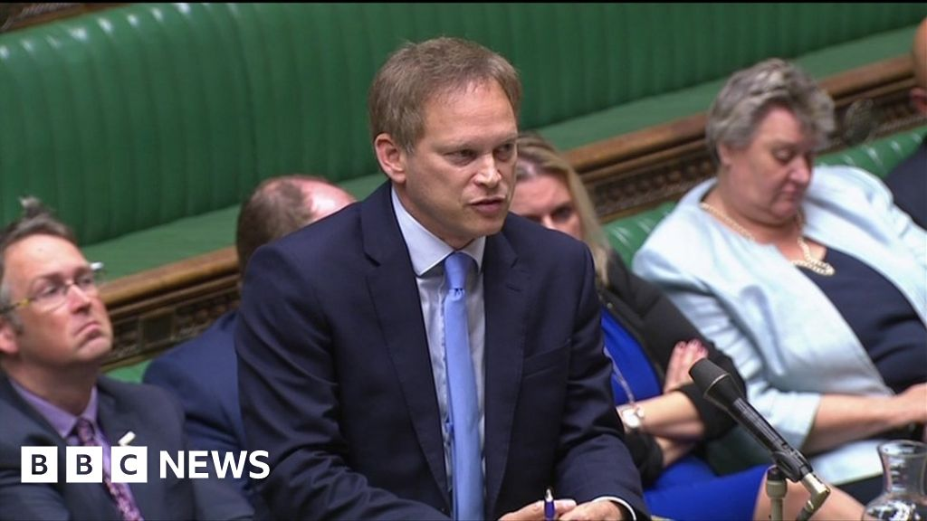 Thomas Cook: Shapps not aware he recycled Grayling speech