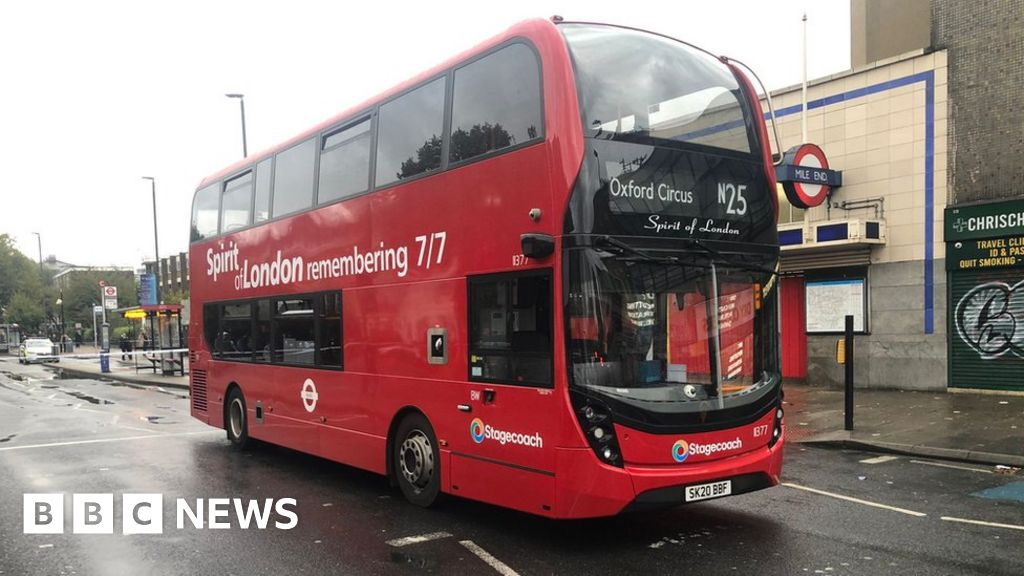 Mile End stabbing: Man critical after attack on east London night bus