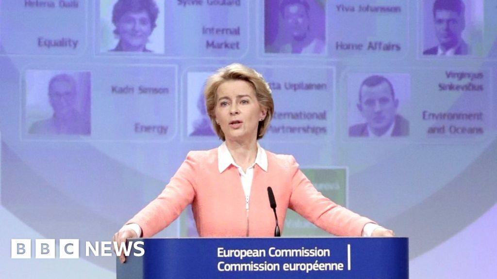 EU's Ursula von der Leyen names most diverse Commission ever