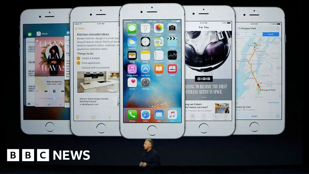 Apple accused of iPhone 6 'touch disease' defect - BBC News