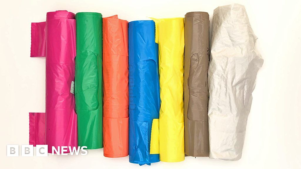 Colourful Bin Bags Help Robots Sort Trash