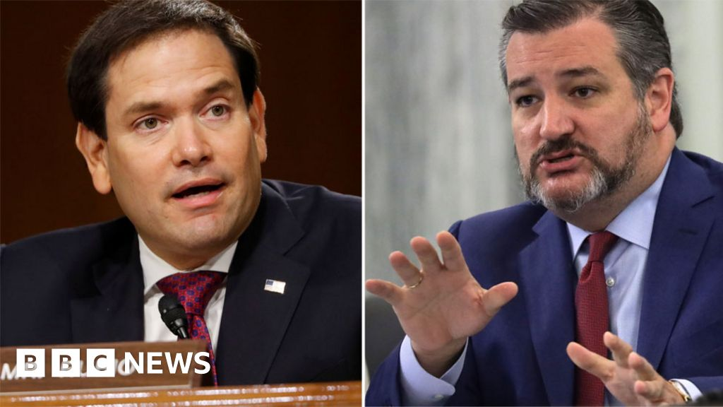 China slaps sanctions on Rubio and Cruz