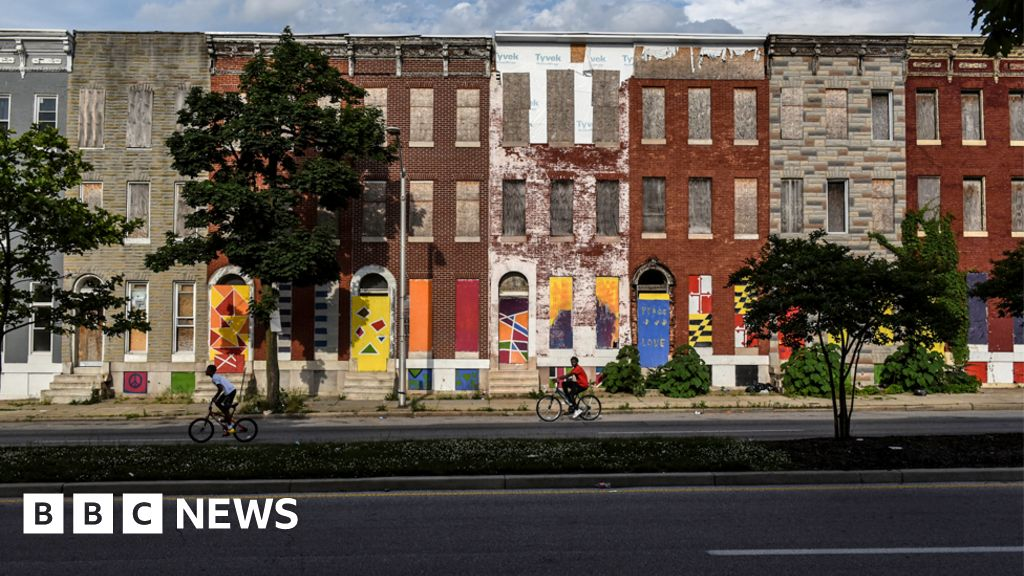 Baltimore - A city criticised by Trump hits back