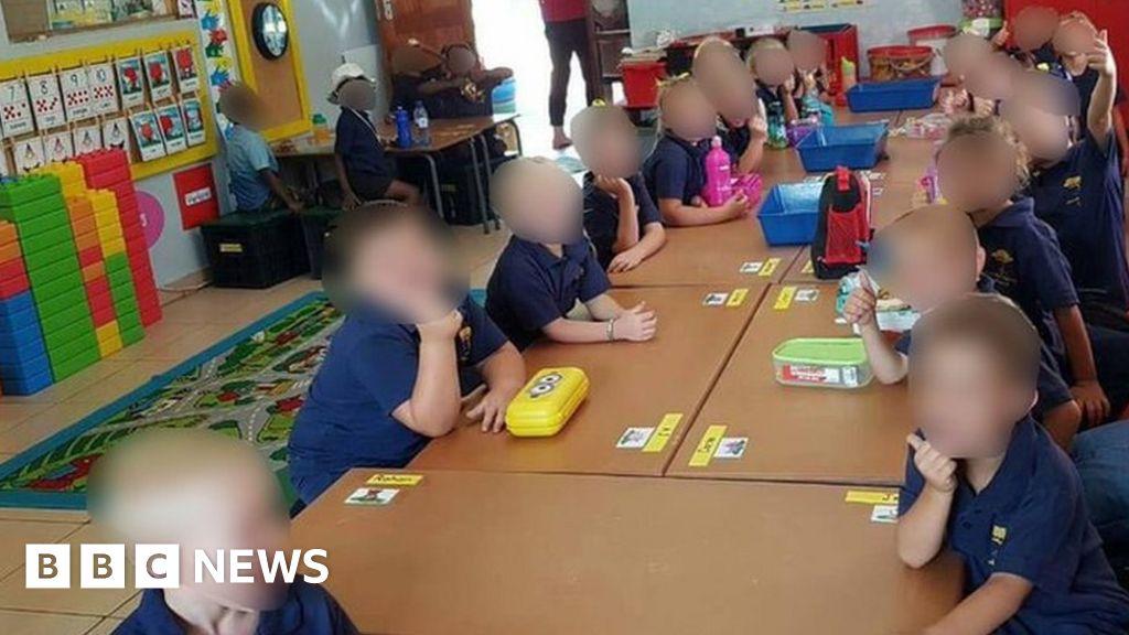 S Africa teacher splits children 'by race'