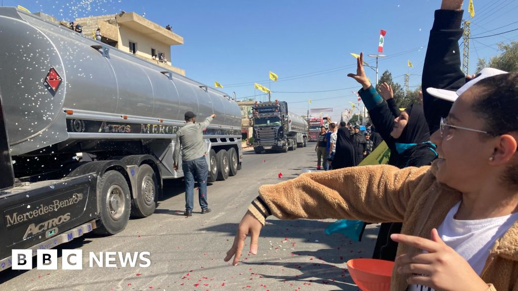 Hezbollah brings Iranian fuel into Lebanon to ease shortages