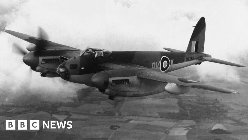 WW2 Mosquito aircraft blueprints found at Airbus factory