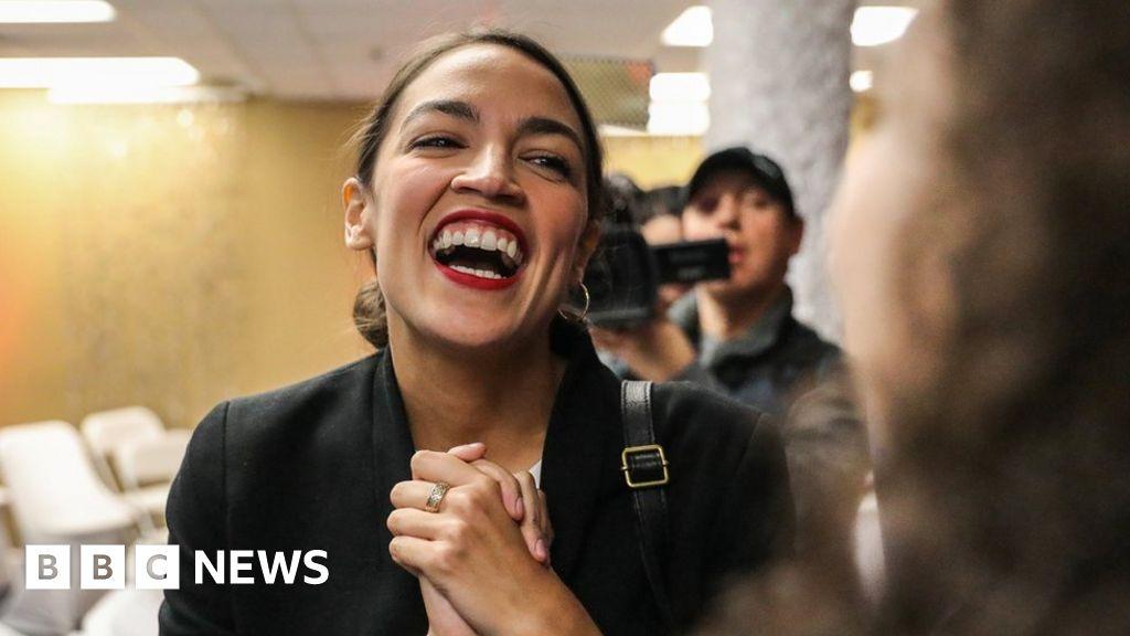 Millennial congresswoman Alexandria Ocasio-Cortez cant afford rent - BBC  News