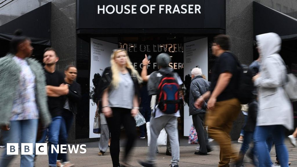 Anger mounts over House of Fraser gift cards