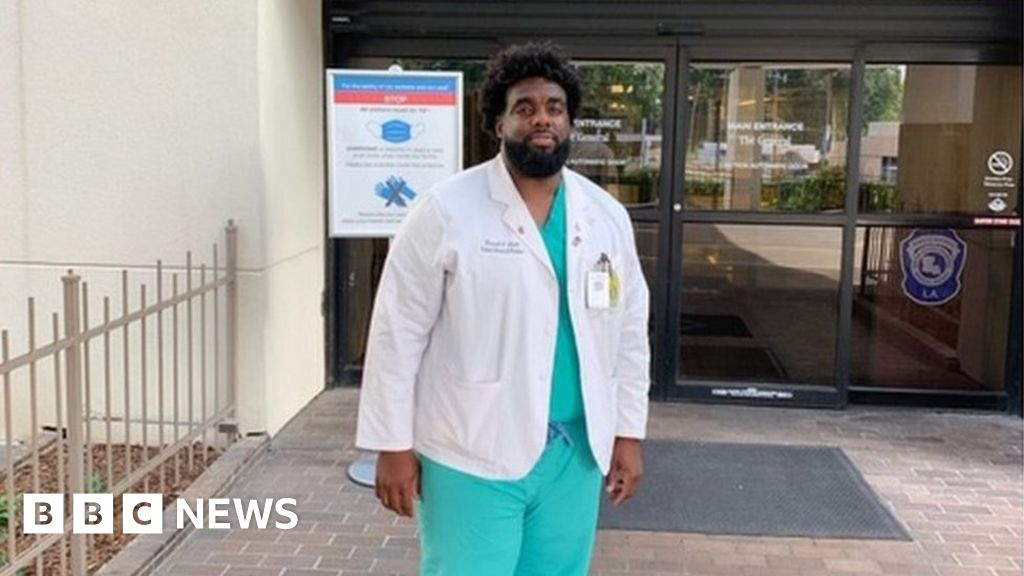 Louisiana man goes from hospital security guard to medical student