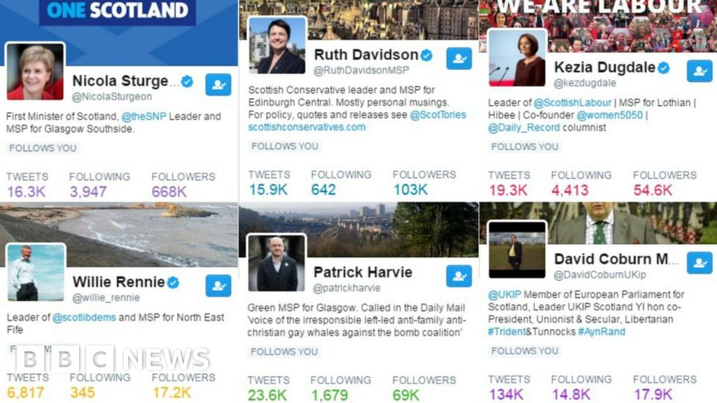 News Twitter: General Election 2017: The Hashtags, Likes And Re-tweets