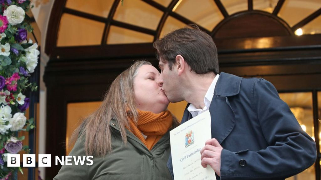 Registered partnerships: the First mixed-sex unions to take place