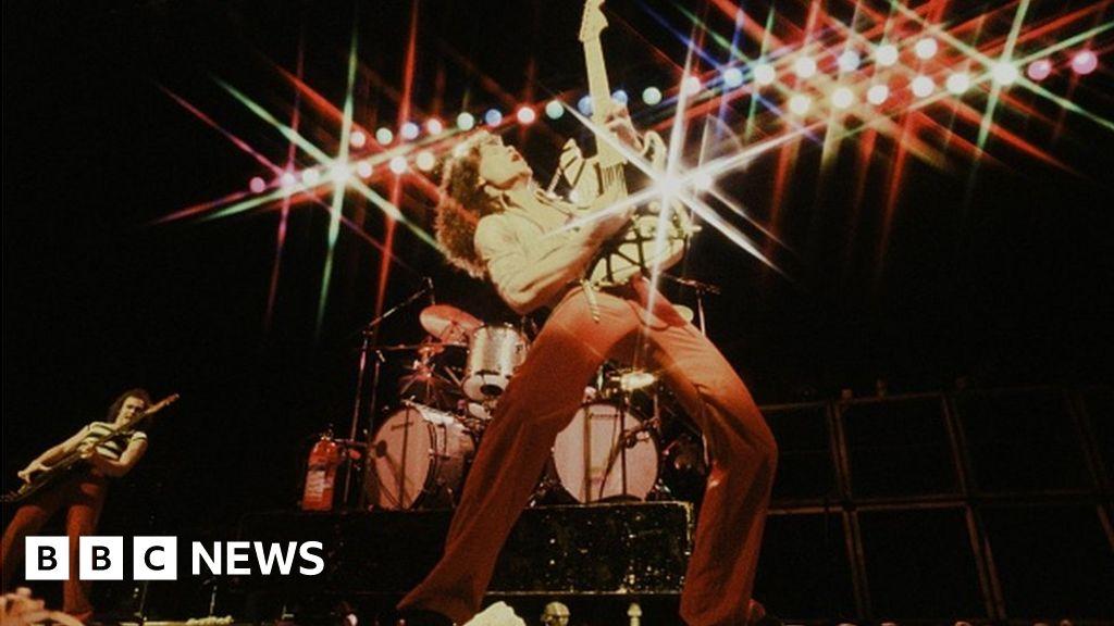 Tributes paid to 'Mozart of rock' Eddie Van Halen