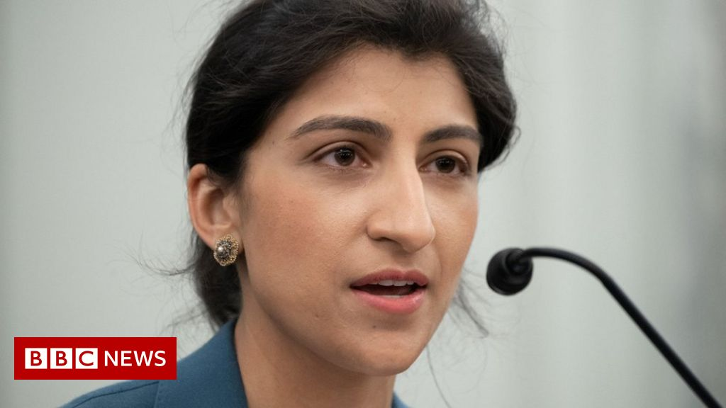 Lina Khan: She's taking on the 32-year-old Big Tech team