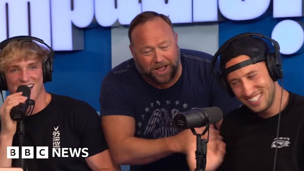 Logan Paul 'Unwise' to do Alex Jones YouTube Interview