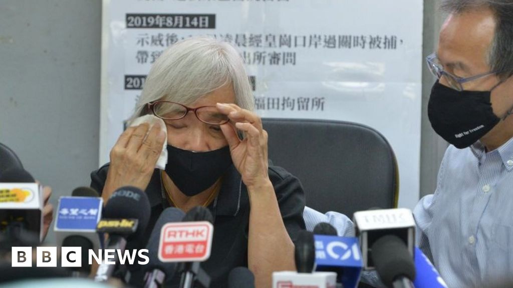 Missing Hong Kong protester Alexandra Wong 'was held in mainland China'