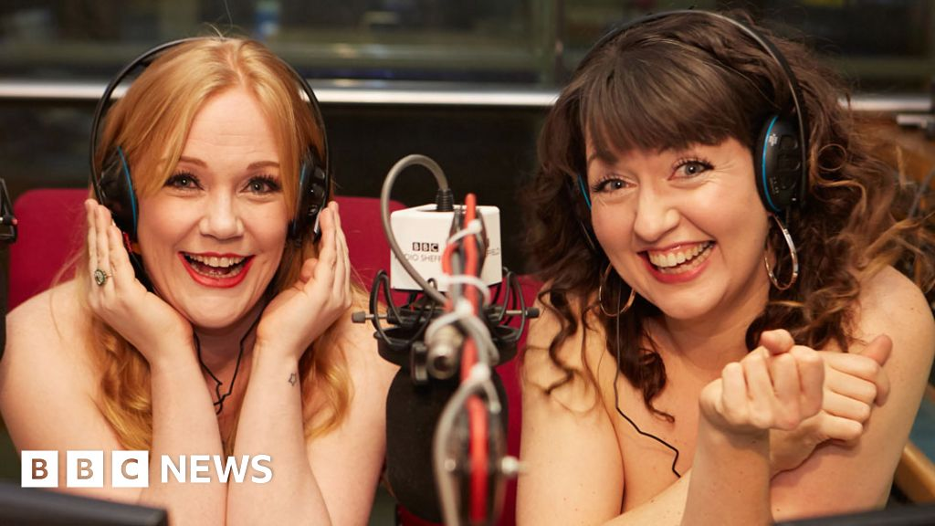 The BBC reporters who strip off to host The Naked Podcast