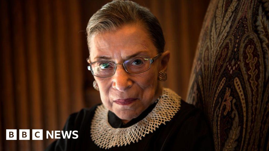 Ruth Bader Ginsburg Liberal America Panics When She Falls Ill Bbc News