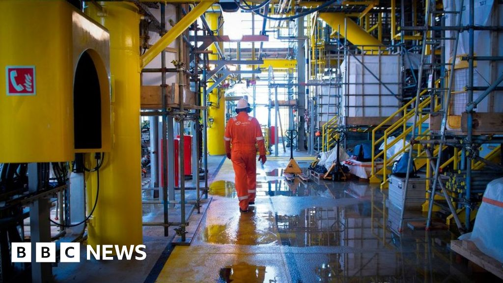 Climate change: Oil and gas sector 'to halve emissions by 2030' thumbnail