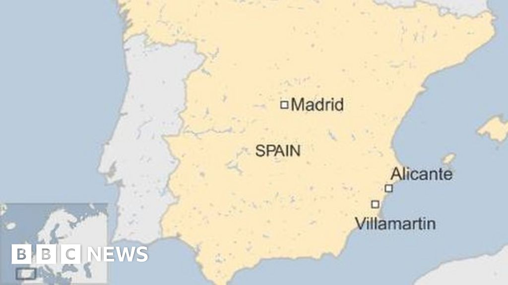 Britons Held In Spain After Uk Man S Death Bbc News