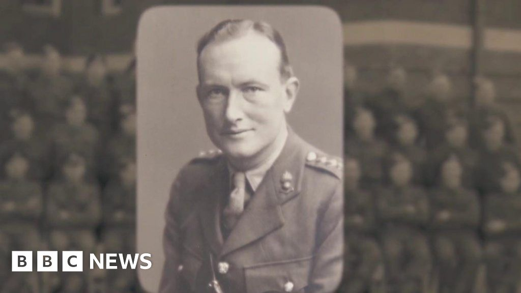 VE day:  Our father wrote the peace-document