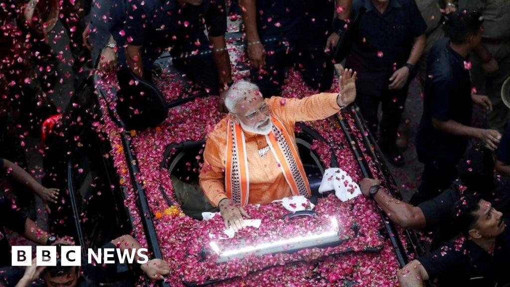 Landslide win for Narendra Modi in India elections