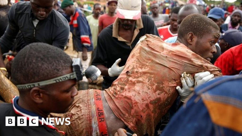 Nine rescued from flooded Zimbabwe mine