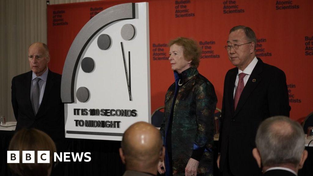 Doomsday Clock nearer to apocalypse than ever