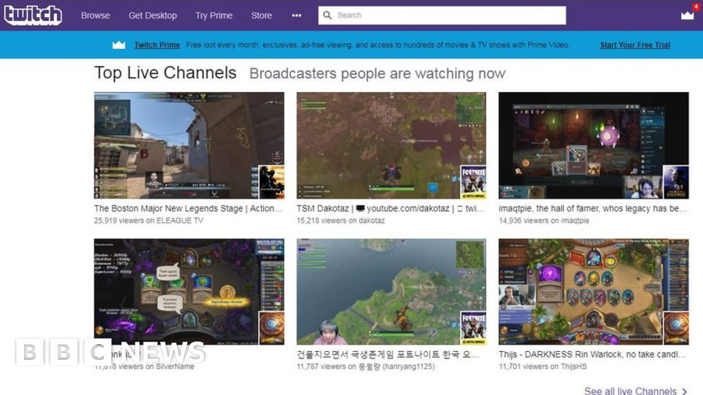 Amazon's Twitch triumphs over bot-sellers