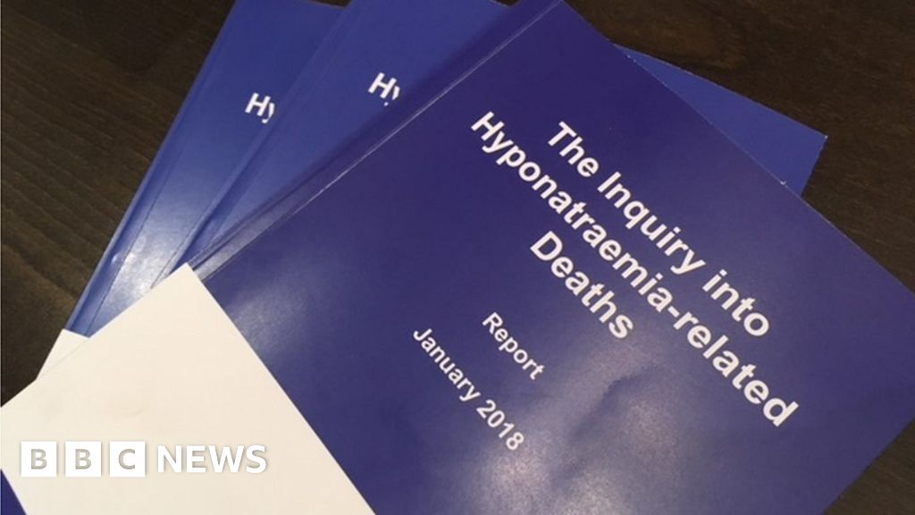 Hyponatraemia Inquiry Doctor Removed From Medical Register Bbc News