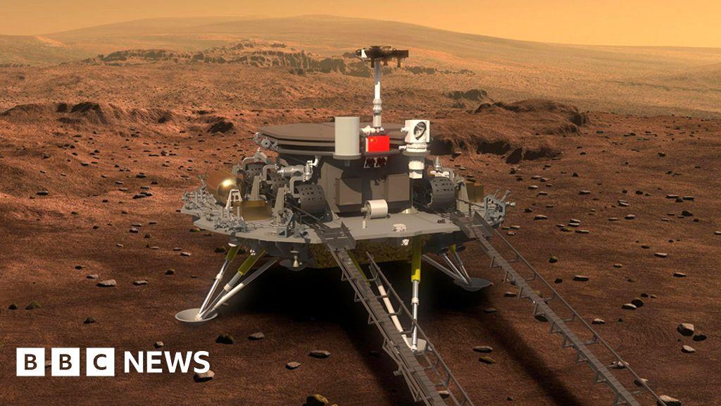 China lands Zhurong vehicle on Mars
