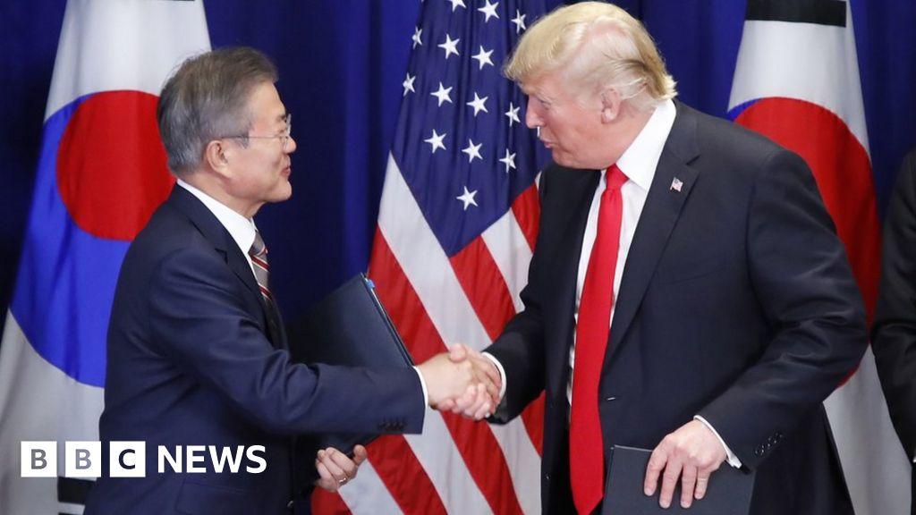Trump hails South Korea trade deal