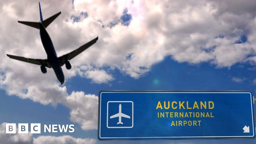 The New Zealand airport staff gave a positive to the day after the bubble opened