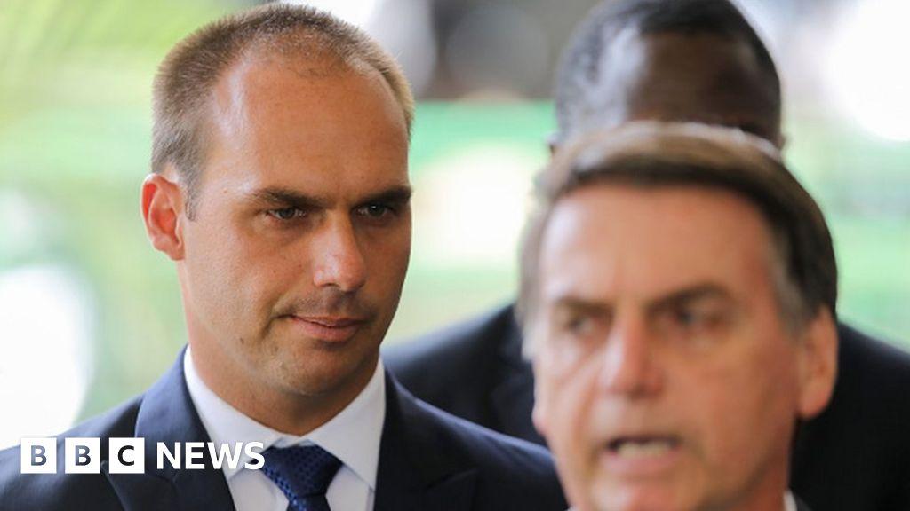 Brazil prosecutors move to ban Bolsonaro's son from ambassador job