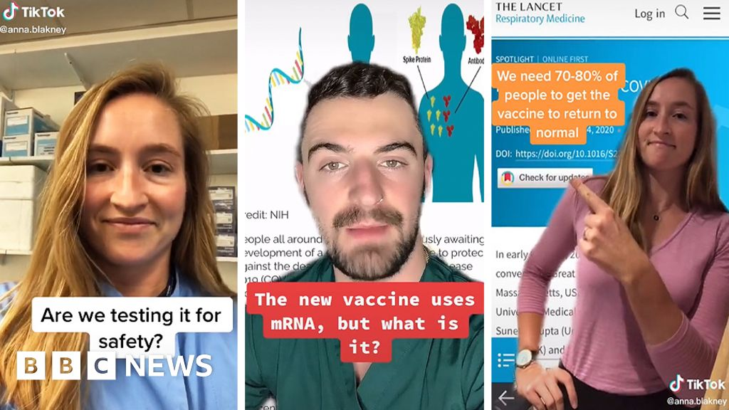 Vaccine doctors on TikTok: 'Come for the fun, stay for the science'