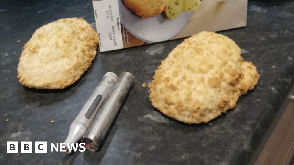 E Cigarette Found In Tesco Chicken Kiev Bbc News